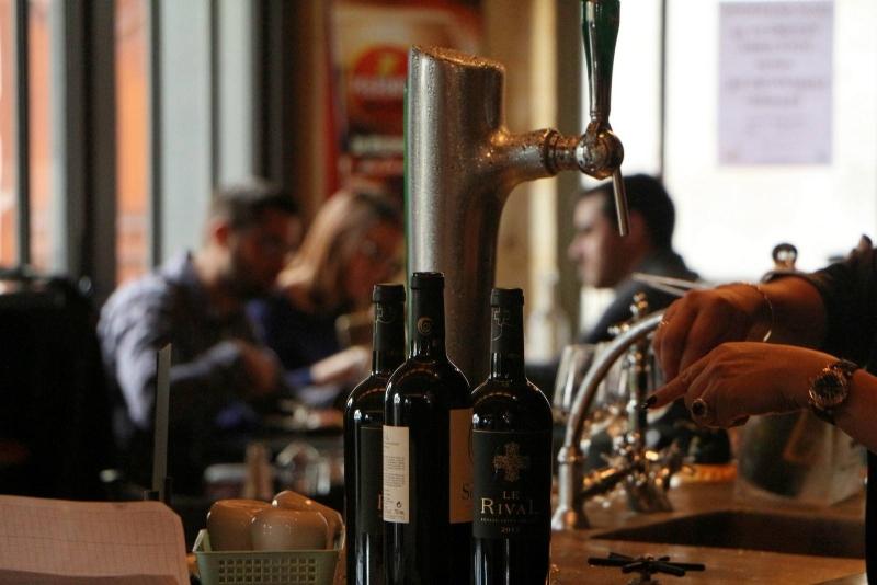 Restaurant - Le Bistrot de la Gare - Restaurant Puisseguin